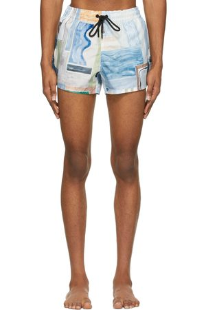 COMMAS Multicolor Short Length Swim Shorts