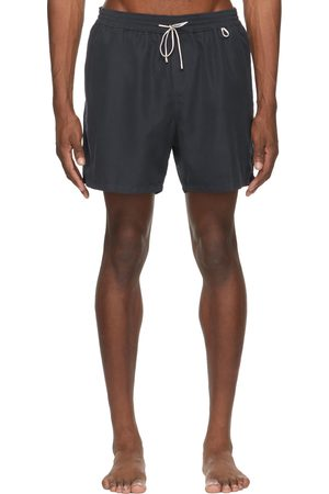 Loro Piana Navy Bay Soft Albatros Swim Shorts