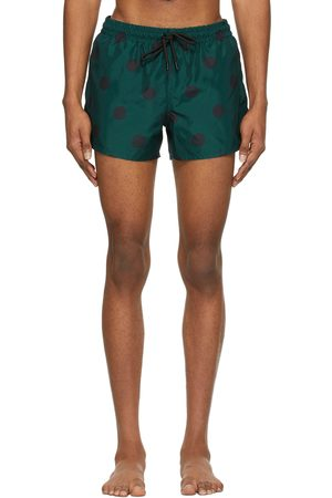 COMMAS Blue & Short Length Swim Shorts