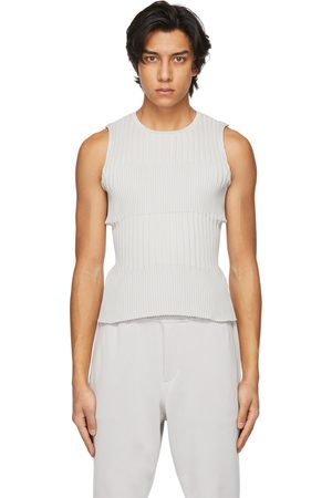 CFCL Grey Fluted Tank Top