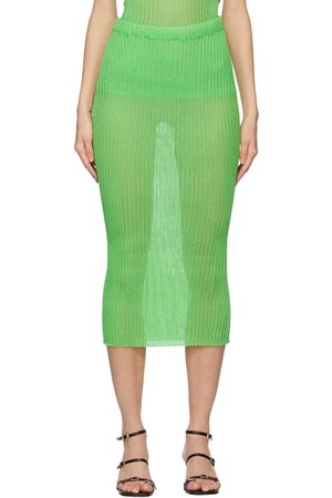 a. roege hove Green Tube Skirt