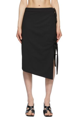 OFF-WHITE Women Midi Skirts - Formal Strings Midi Skirt