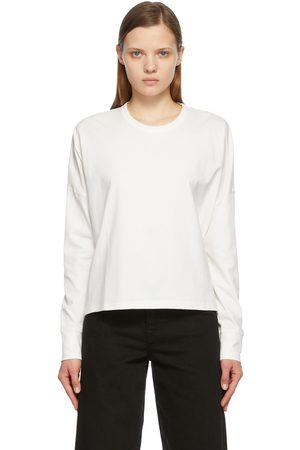 STUDIO NICHOLSON Off-White Loop Long Sleeve T-Shirt