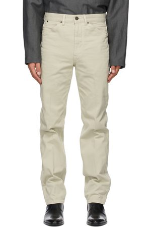 LEMAIRE Off-White Tapered 5 Pocket Jeans