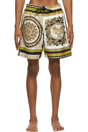 VERSACE Multicolor Barocco Mosaic Swim Shorts