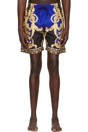 Versace Underwear Multicolor 'Le Pop Classique' Swim Shorts