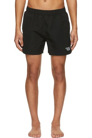 VETEMENTS Black 'Limited Edition' Logo Swim Shorts