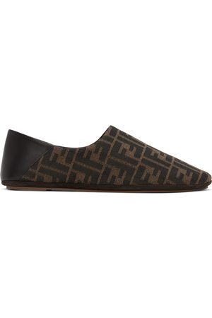 Fendi Brown 'Forever ' Loafers