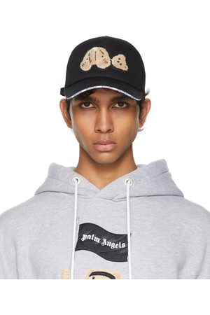Palm Angels Black Bear Trucker Hat