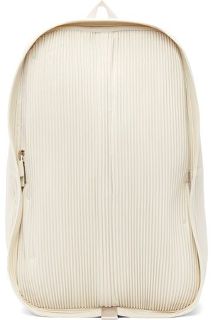 HOMME PLISSÉ ISSEY MIYAKE Off-White Daypack Backpack