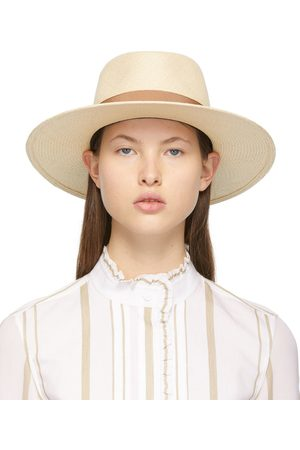 Le Mont St Michel Straw Charles Panama Hat