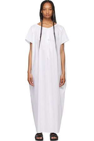 Totême Draped Beach Tunic Dress
