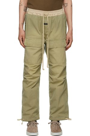 FEAR OF GOD Green Military Cargo Pants