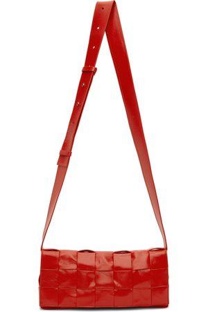 Bottega Veneta Red 'The Stretch Cassette' Bag