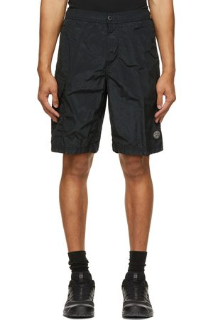 Stone Island Black Nylon Metal Swim Shorts