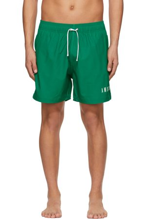 AMIRI Green Logo Swim Shorts