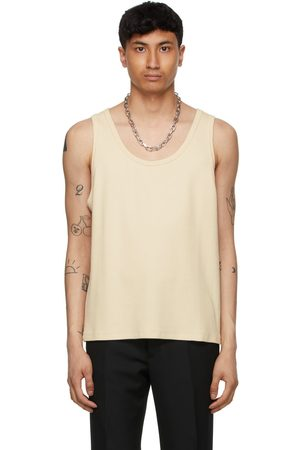 Second/Layer Off-White Ribbed Tank Top