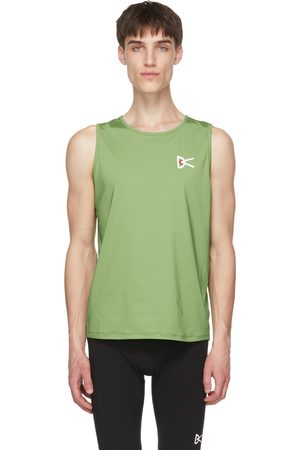 District Vision Green Air Wear Singlet Tank Top