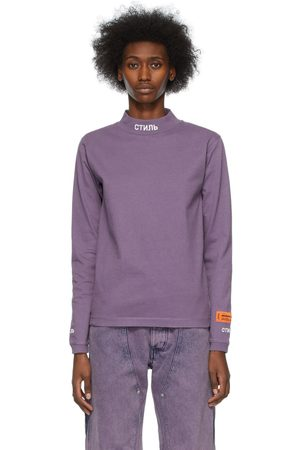 Heron Preston High-Neck Long Sleeve T-Shirt