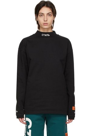 Heron Preston Style' Mock Neck Long Sleeve T-Shirt
