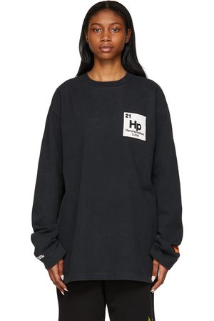 Heron Preston Herons Halo Long Sleeve T-Shirt