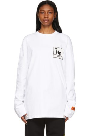 Heron Preston Women Long Sleeve - Herons Halo Long Sleeve T-Shirt