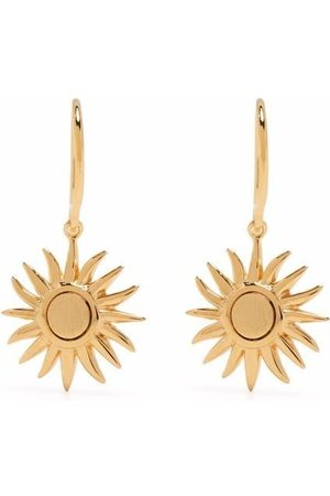 Dinny Hall Women Earrings - My World Sun charm drop earrings