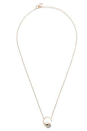Tasaki Women Necklaces - 18kt rose Aurora Akoya pearl pendant
