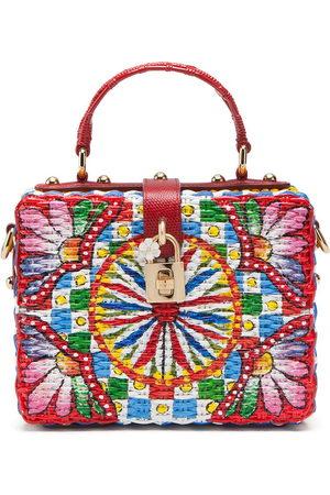 Dolce & Gabbana Lemon and floral Box bag
