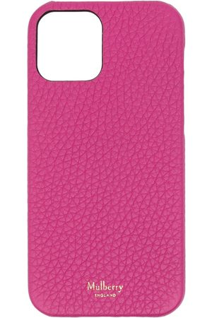 MULBERRY Grained leather iPhone 12 case