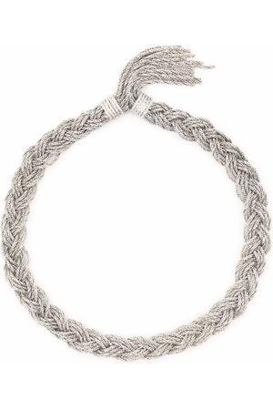 Aurélie Bidermann Miki braided necklace