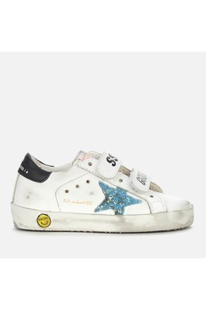 Golden Goose Toddlers' Old School Leather Trainers