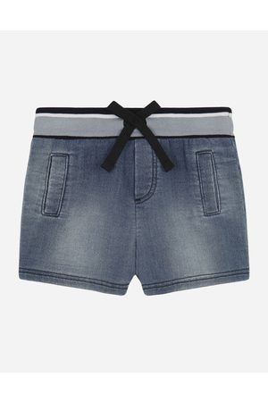 Dolce & Gabbana Boys Trousers - Trousers and Shorts - Jersey denim jogging shorts male 3/6