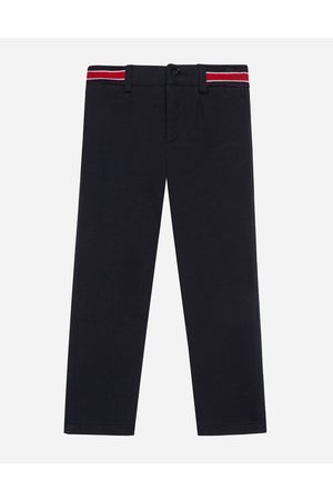 Dolce & Gabbana Boys Trousers - Trousers and Shorts - Jersey pants with jacquard logo male 3