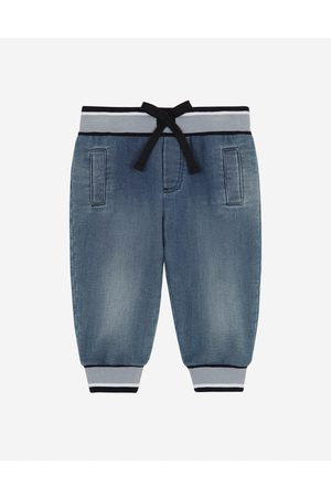 Dolce & Gabbana Boys Trousers - Trousers and Shorts - Jersey denim jogging pants male 6/9