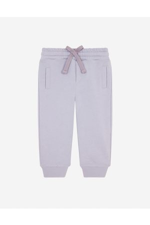 Dolce & Gabbana Trousers and Shorts - Jersey jogging pants with logo tag male 3/6