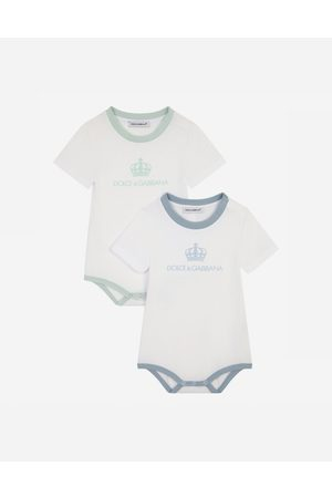 Dolce & Gabbana Gift Sets and Babygrows - Gift set with 2 -print jersey babygrows male 0/3