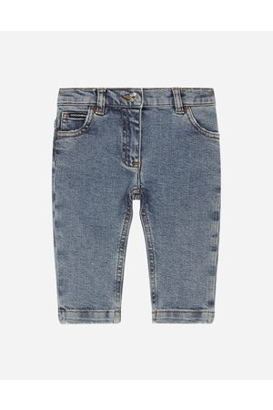 Dolce & Gabbana Girls Skinny Trousers - Trousers and Skirts - Washed skinny stretch jeans female 3/6