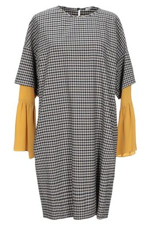 Gold Case Women Dresses - DRESSES - Short dresses