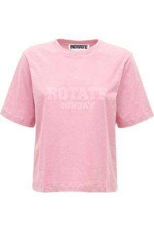 ROTATE Aster Sunday Capsule Logo Jersey T-shirt
