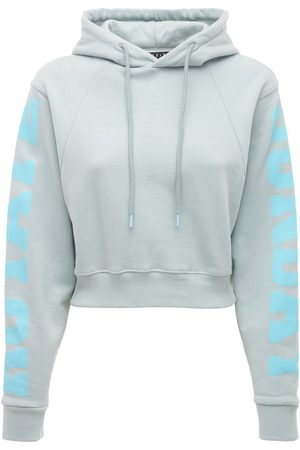ROTATE Women Sweatshirts - Viola Sunday Capsule Cropped Hoodie