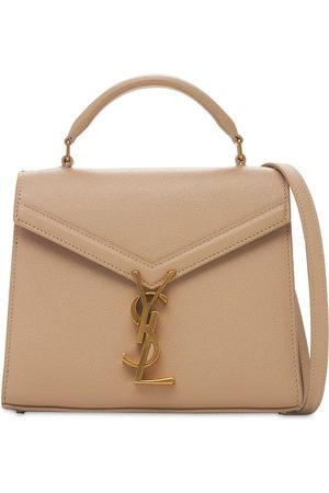 SAINT LAURENT Mini Cassandra Grained Leather Bag