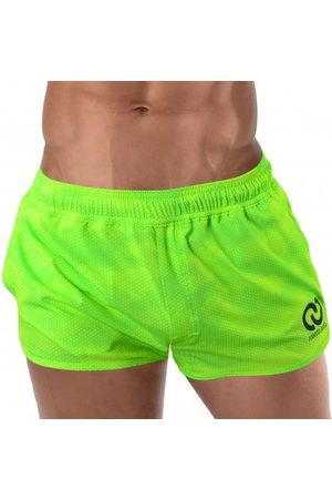 Roberto Lucca Solid Swim Shorts - Lime S