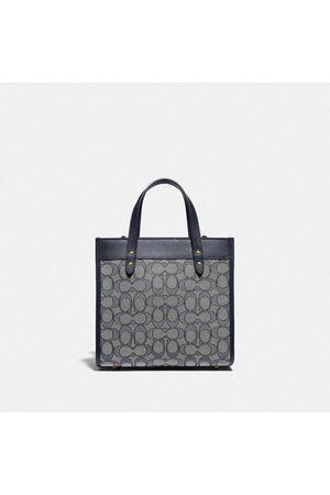 Coach Women Handbags - Field Tote 22 In Signature Jacquard in