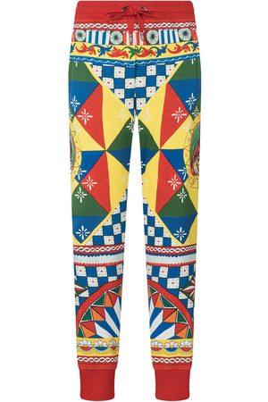 Dolce & Gabbana Women Trousers - Multi-panel geometric-print track pants