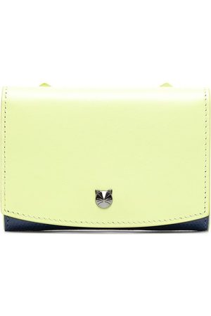 BAPY BY *A BATHING APE® Cut-out logo leather wallet