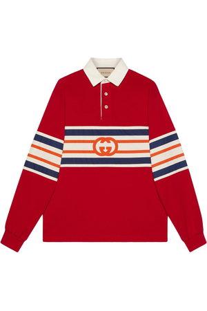 Gucci Interlocking G jersey polo sweatshirt