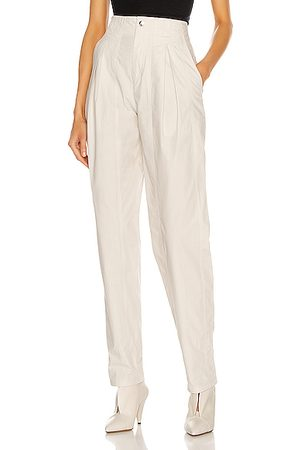 Isabel Marant Kilandy Pant in Chalk