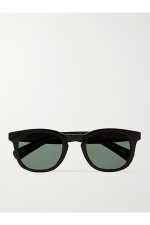 GARRETT LEIGHT CALIFORNIA OPTICAL Men Sunglasses - Kinney X D-Frame Acetate Sunglasses