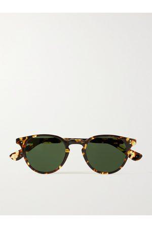 GARRETT LEIGHT CALIFORNIA OPTICAL Men Sunglasses - Clement Round-Frame Acetate Sunglasses